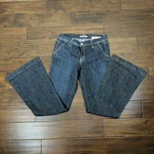 Gap 1969 Limited Edition Womens Flare Jeans Blue 4
